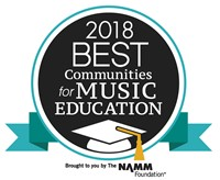 Blackhawk Awarded 2018 Best Communities for Music Education!