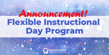 Flexible Instructional Days Announcement