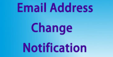 STUDENT EMAIL ADDRESS CHANGE NOTIFICATION