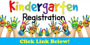 Kindergarten Registration for 2021-22 School Year