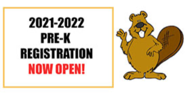 2021-2022 Pre-K Registration Now Open!