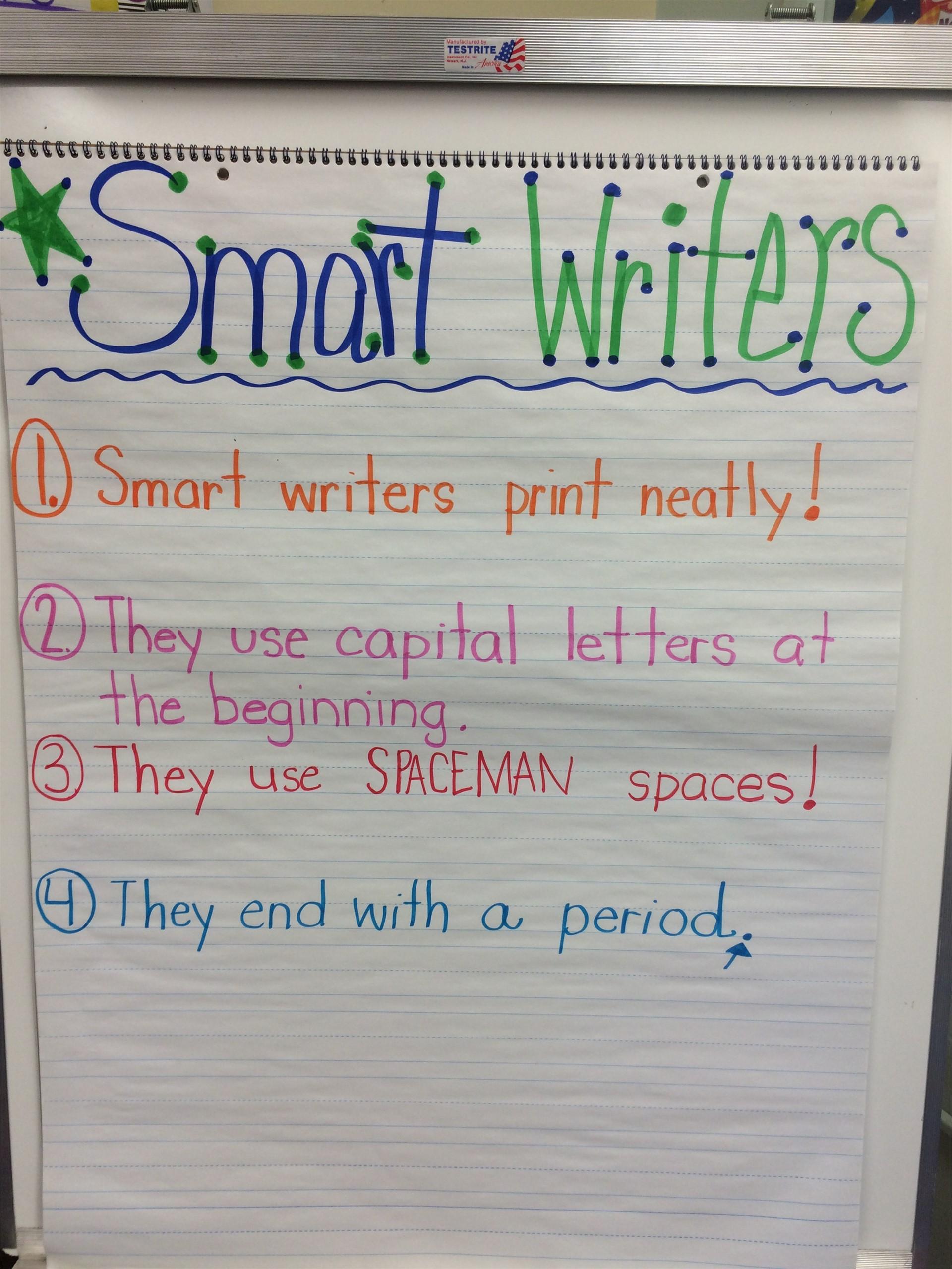 Smart Writer Chart