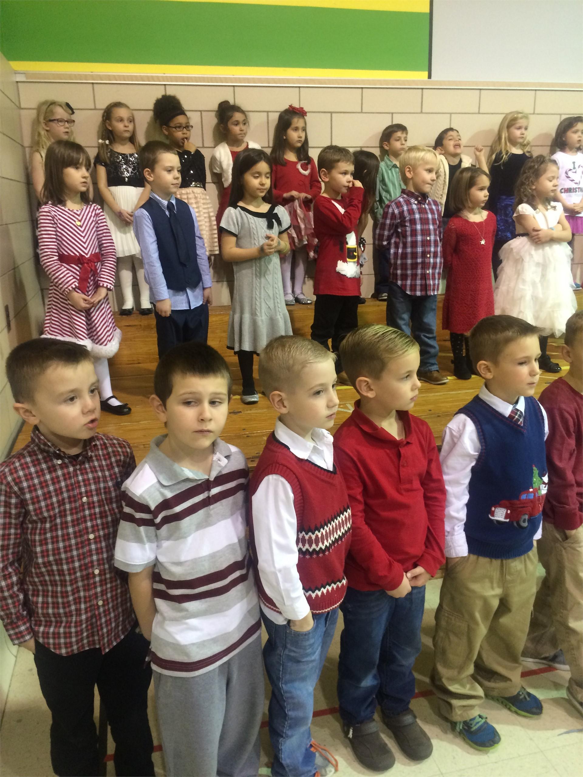Kindergarten Holiday Program