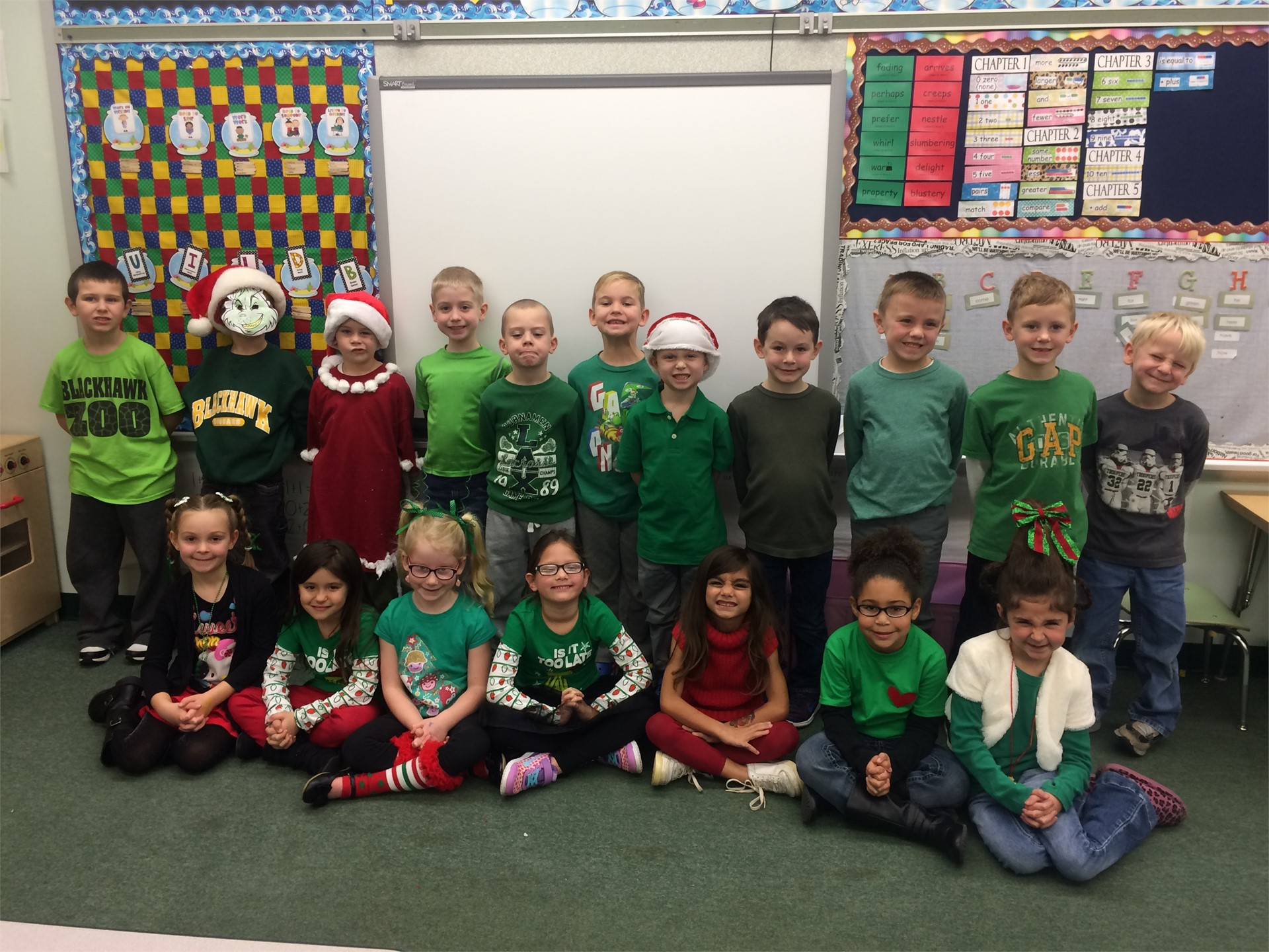 Room 100 Grinch Day