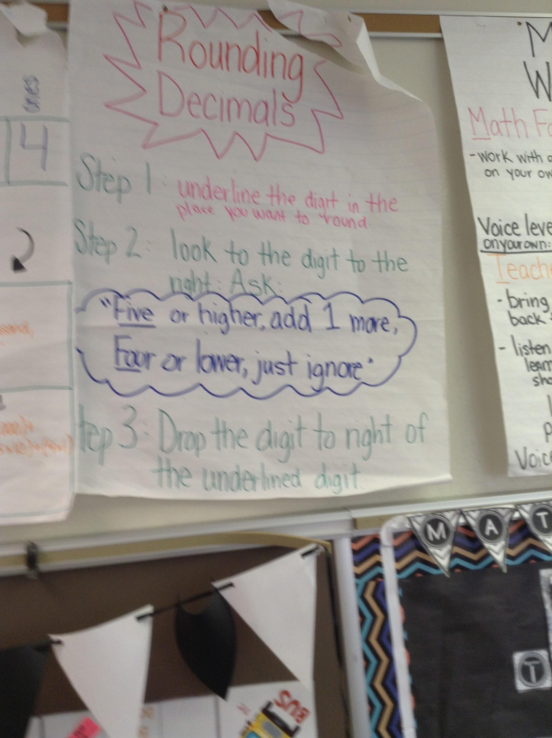 How to round decimals