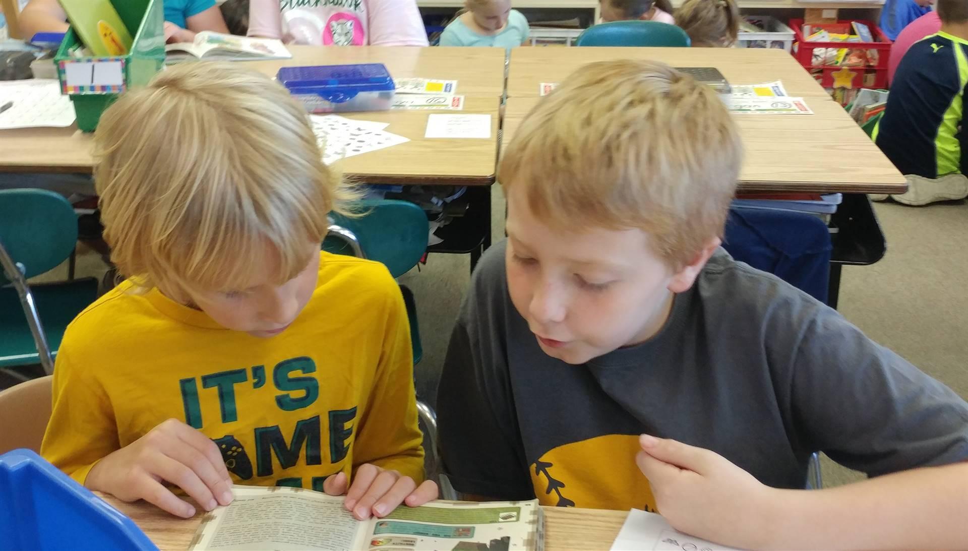 4th Grade partners