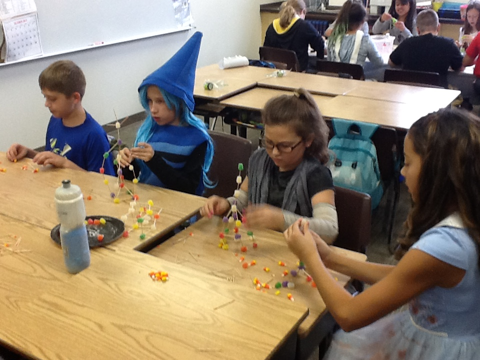 building a candy tower