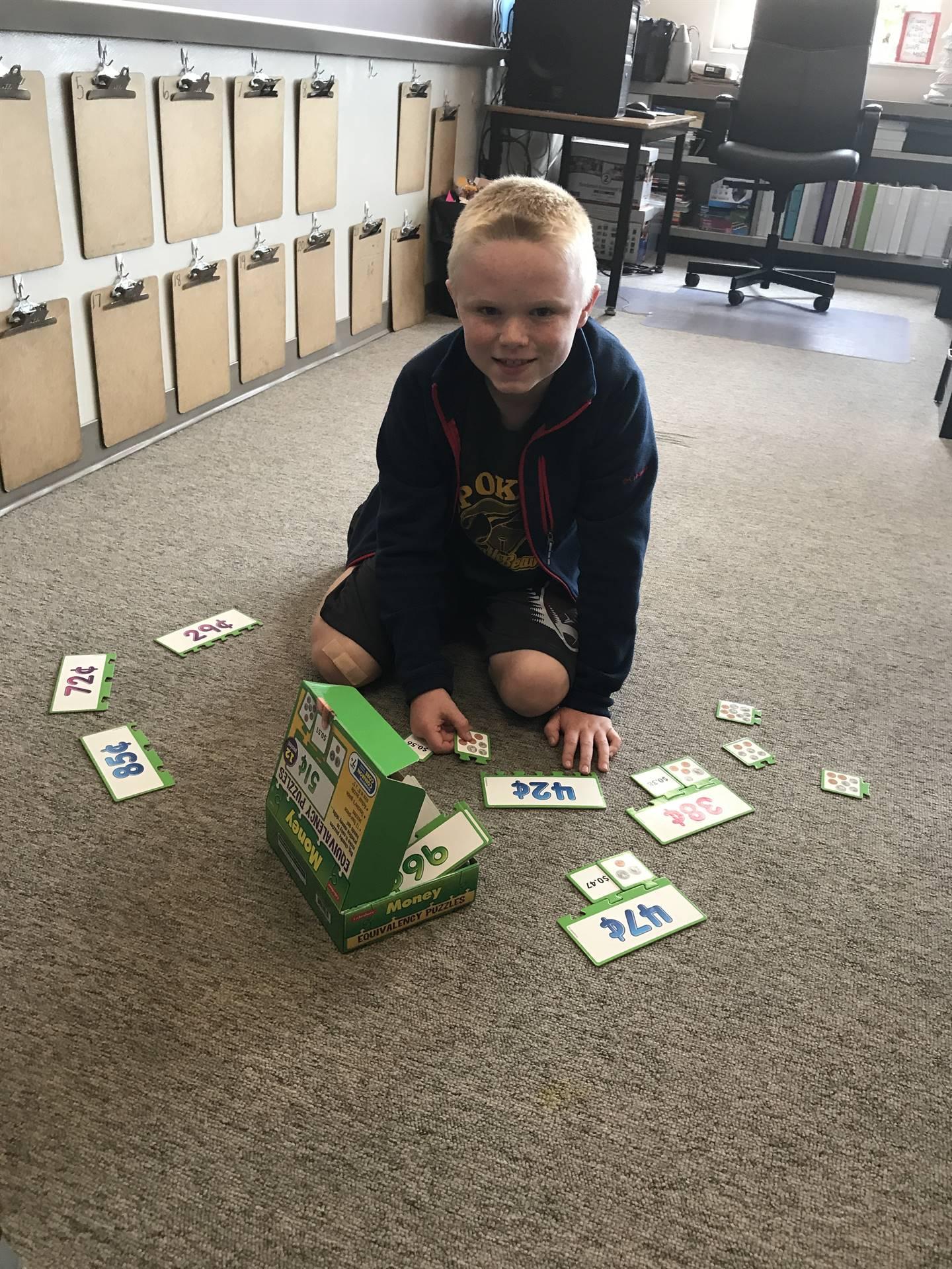 Math Workshop Puzzles