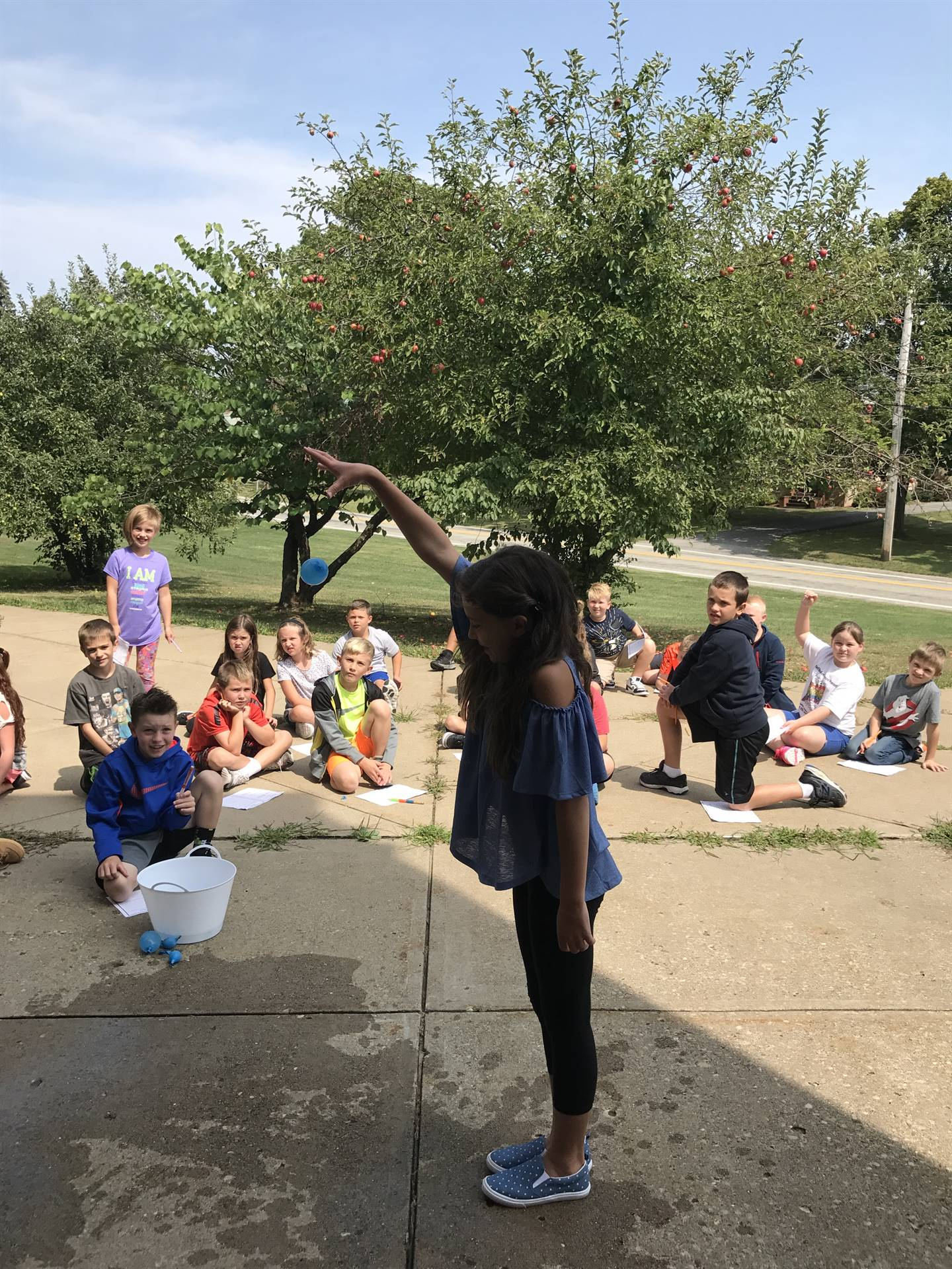 Water Balloon Drop Science Experiment