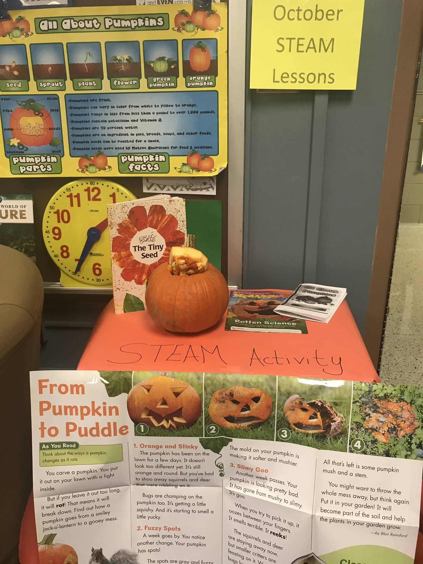 Pumpkin STEAM Activity