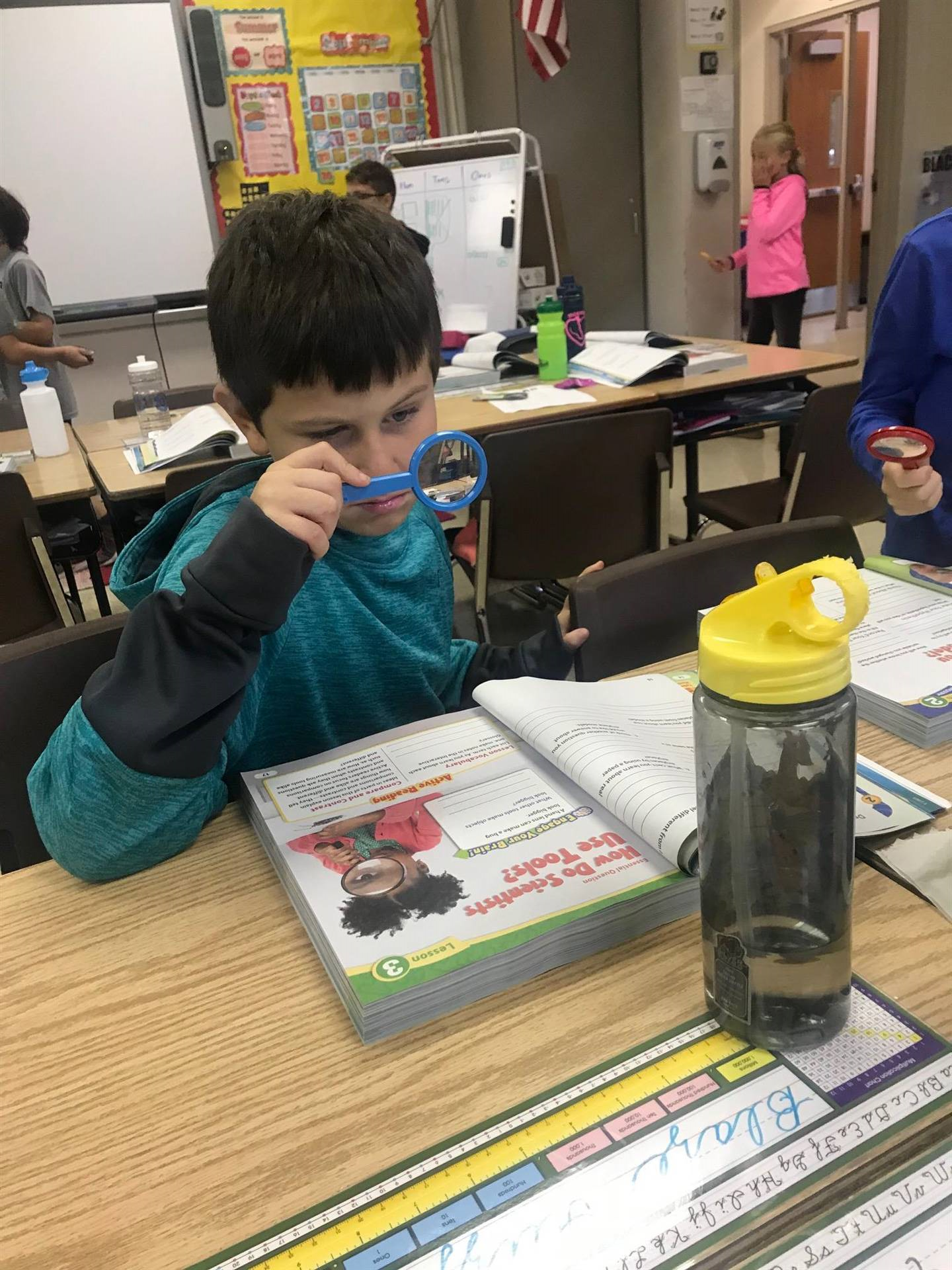 Magnifying Glass Observations