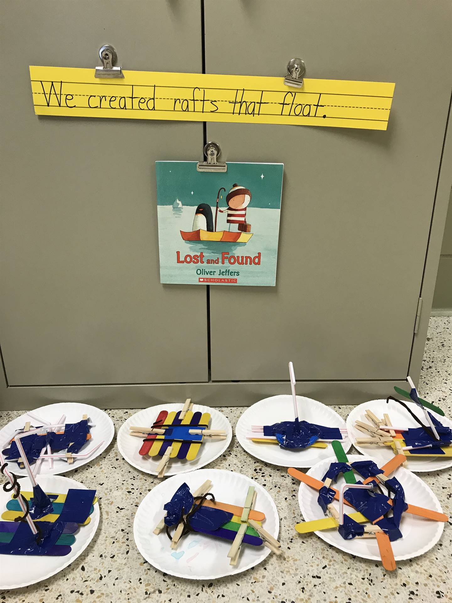 February STEAM Lesson: Rafts