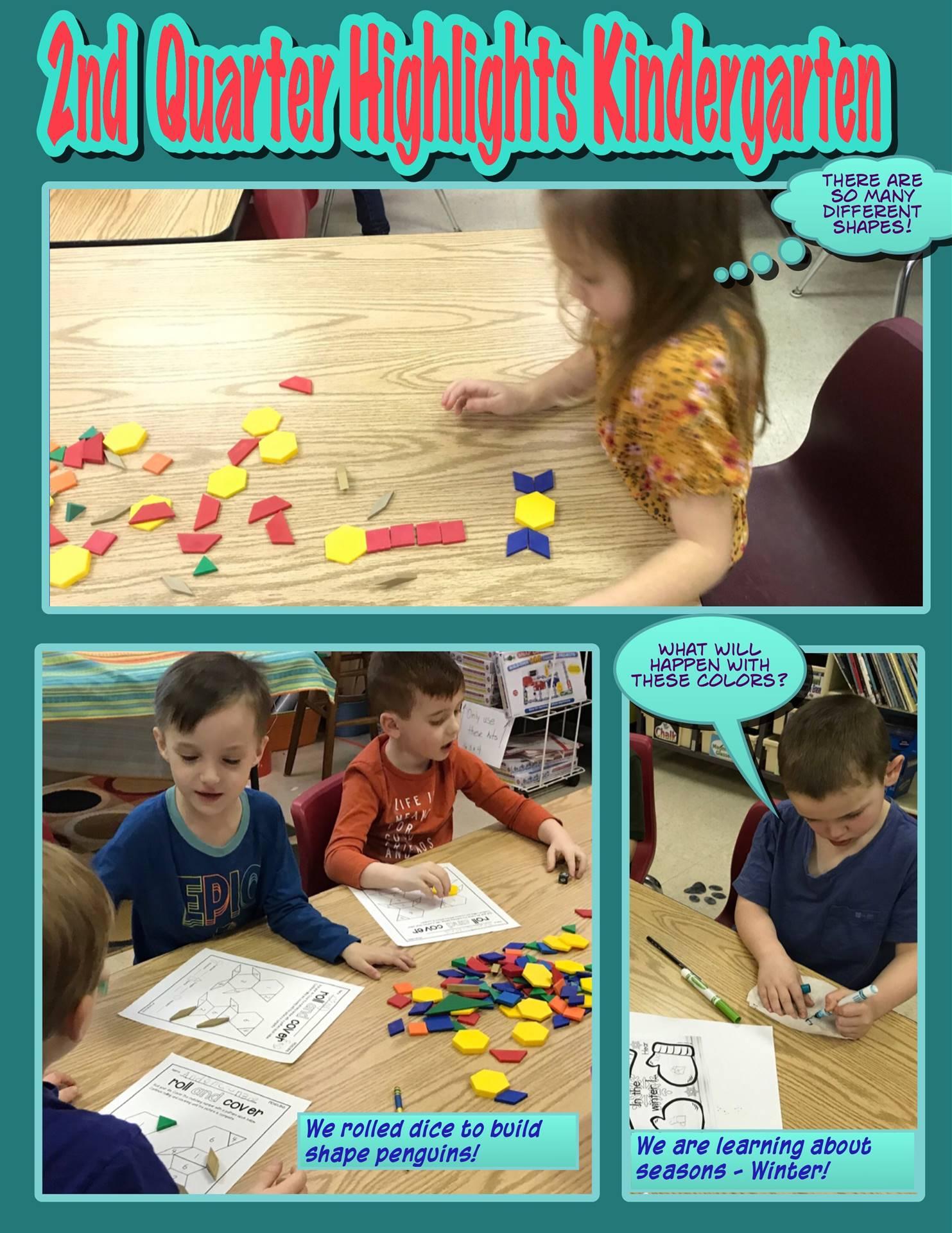 2nd Quarter Kindergarten