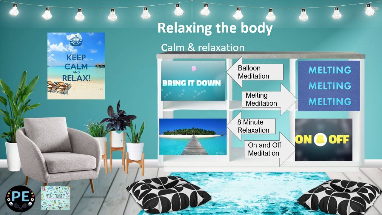 relaxing the body