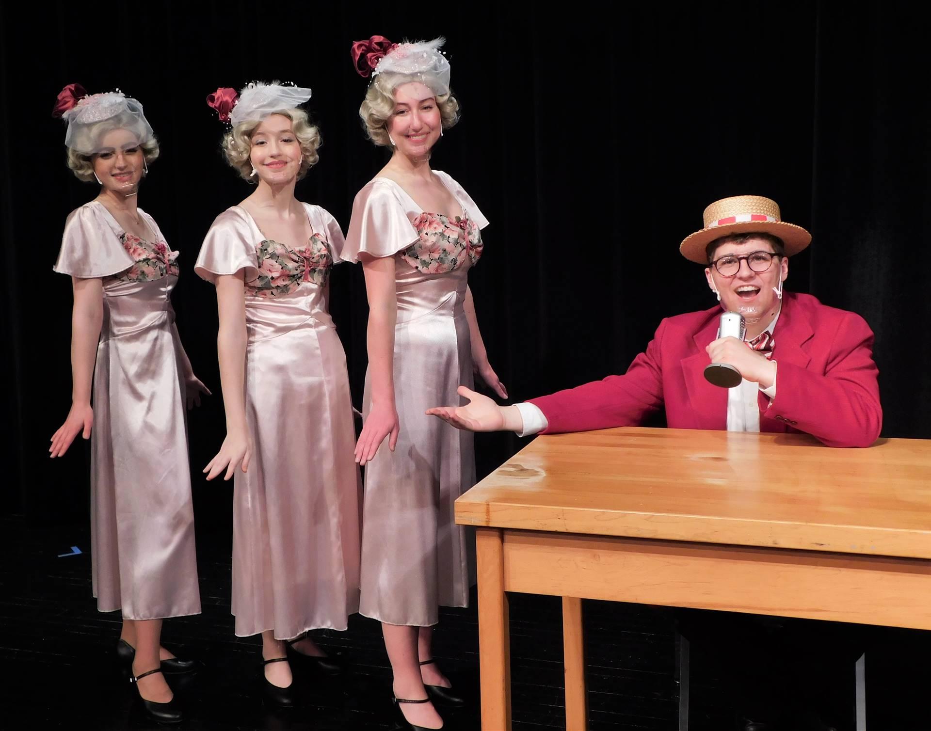Bert Healy and the Boylan Sisters