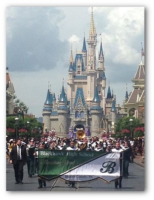 Marching Band Website
