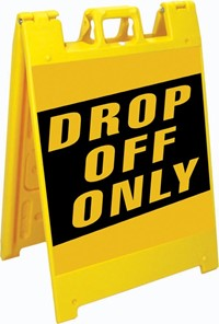 Drop Off Only
